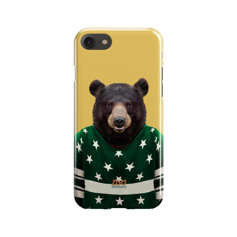 Asian Black Bear Phone Case - Premium Artwear Curartee