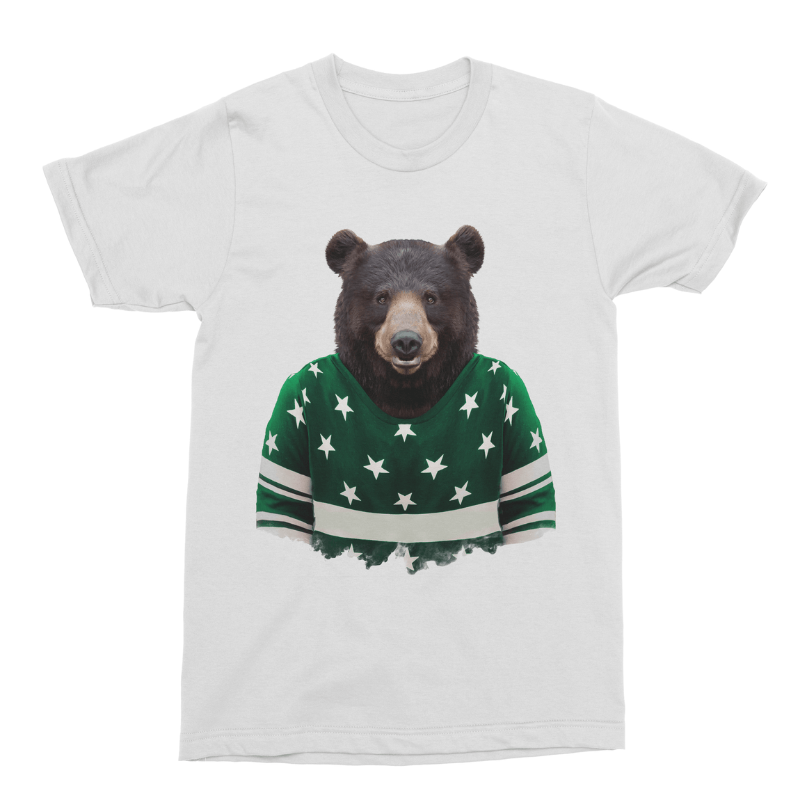 Asian Black Bear Men's T-Shirt - Premium Artwear Curartee