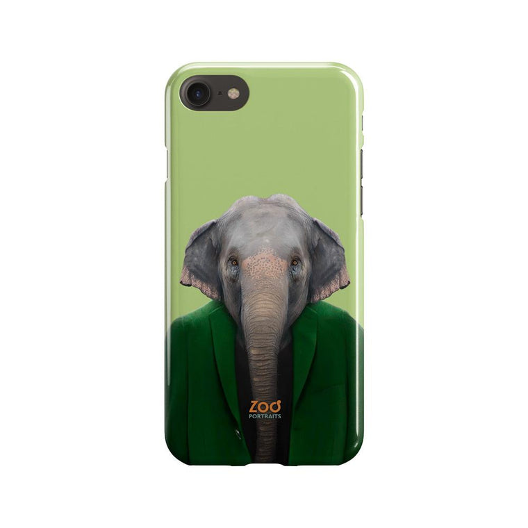 Asiatic Elephant Phone Case - Premium Artwear Curartee
