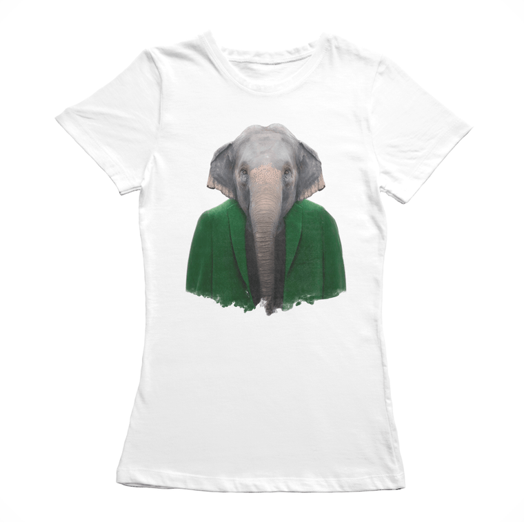 Asiatic Elephant Women's T-Shirt