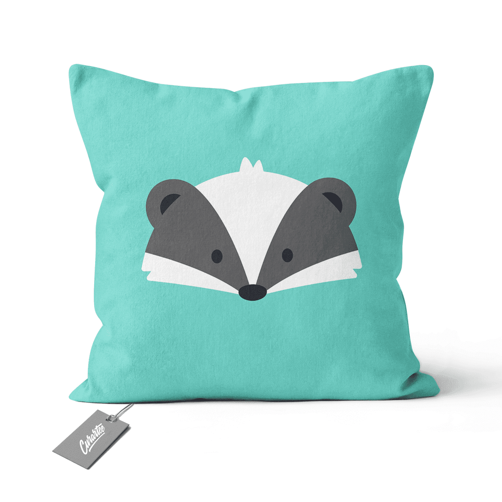 Badger Cushion - Premium Artwear Curartee