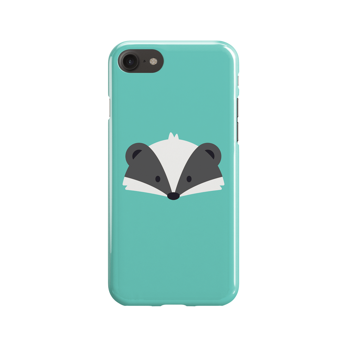 Badger Phone Case - Premium Artwear Curartee