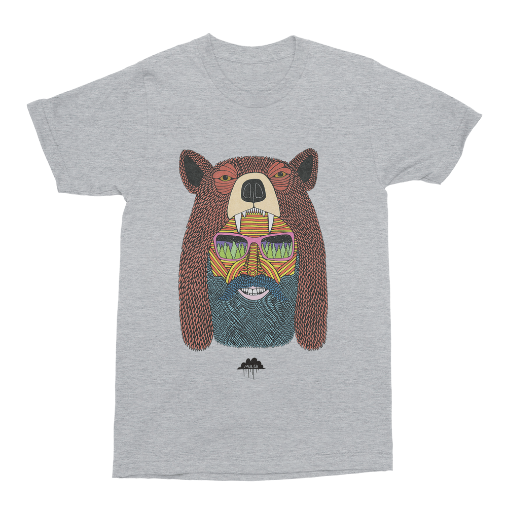 Bear Hat Bob Men's T-Shirt-Curartee