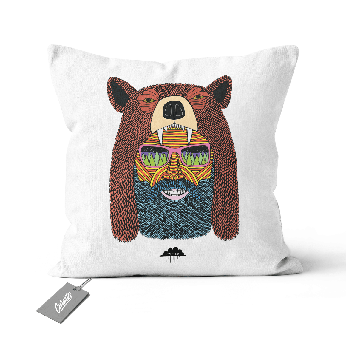 Bear Hat Bob Cushion