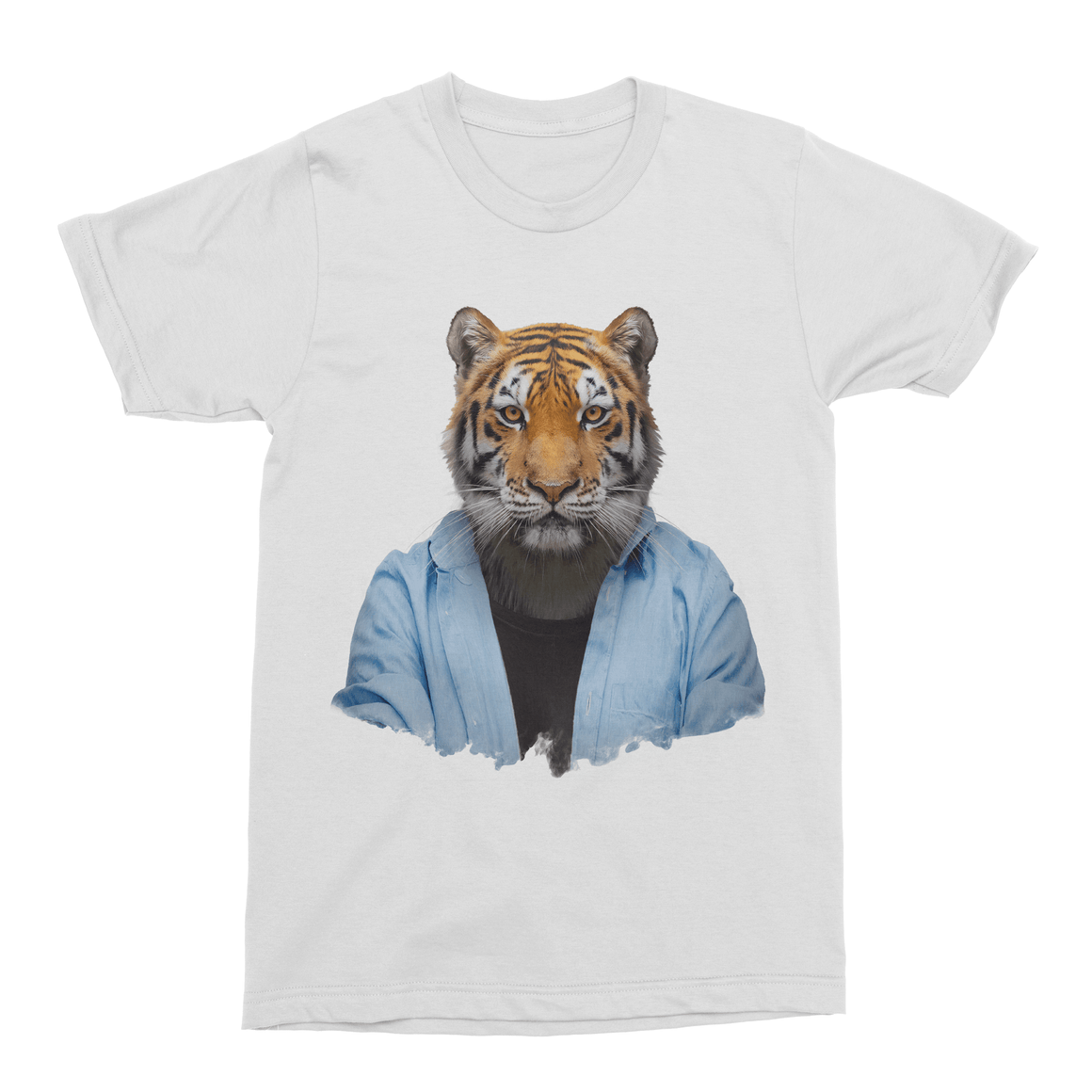 Bengal Tiger Men's T-Shirt - Premium Artwear Curartee