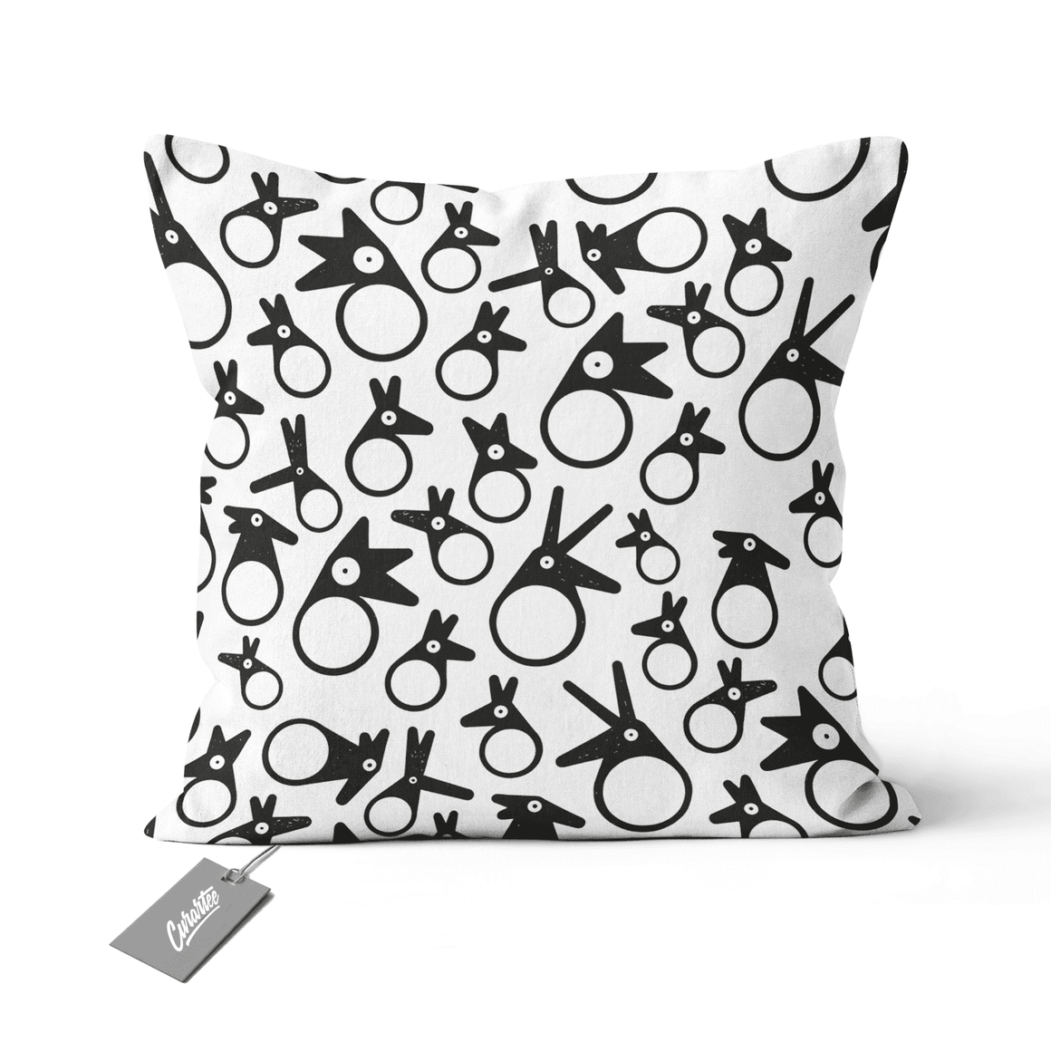 Birds Cushion - Premium Artwear Curartee