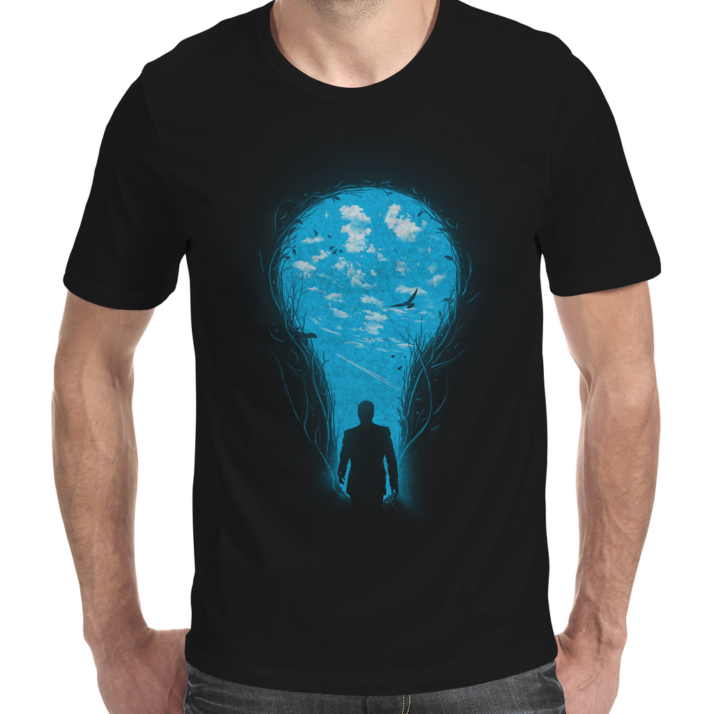 Brighter Side Men's T-Shirt - Premium Artwear Curartee