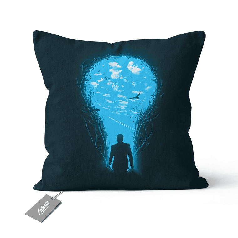 Brighter Side Cushion - Premium Artwear Curartee