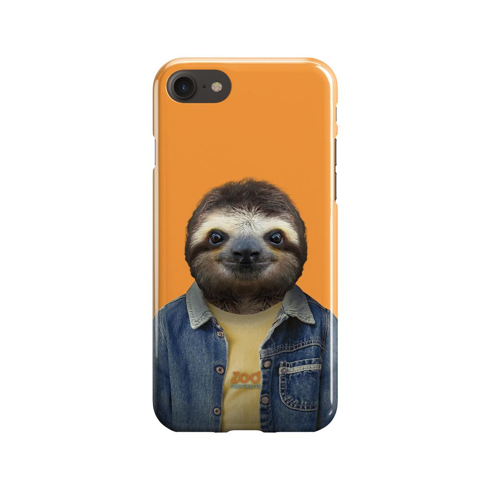 Brown-throated Sloth Phone Case - Premium Artwear Curartee
