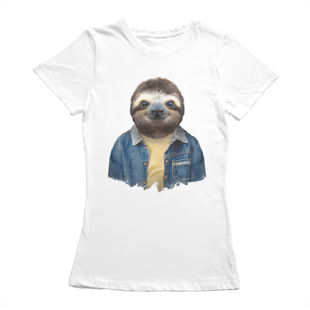 Brown-throated Sloth Women's T-Shirt