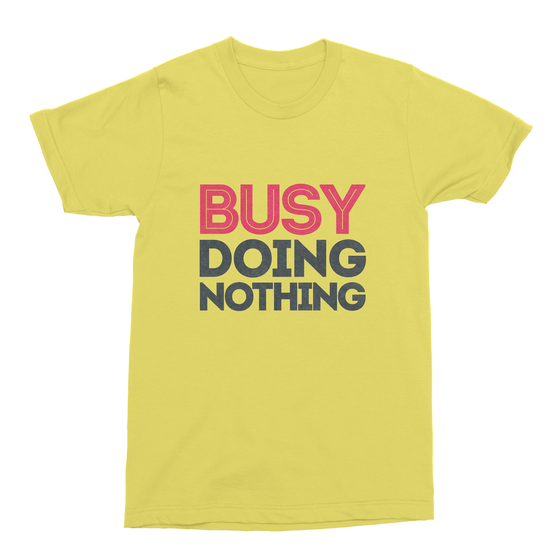 Busy Doing Nothing Men's T-Shirt-Curartee