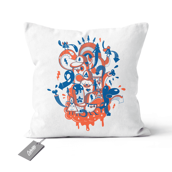 Chomb Amigos Cushion