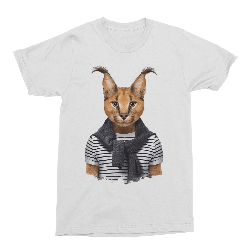 Caracal Men's T-Shirt - Premium Artwear Curartee
