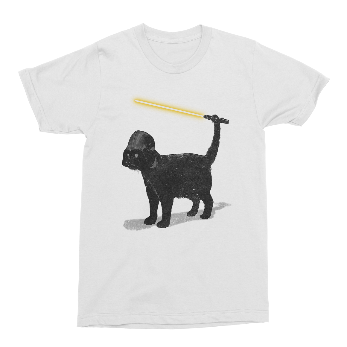 Cat Vader Men's T-Shirt-Curartee