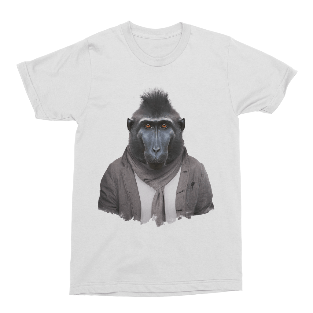 Celebes Crested Macaque Men's T-Shirt - Premium Artwear Curartee