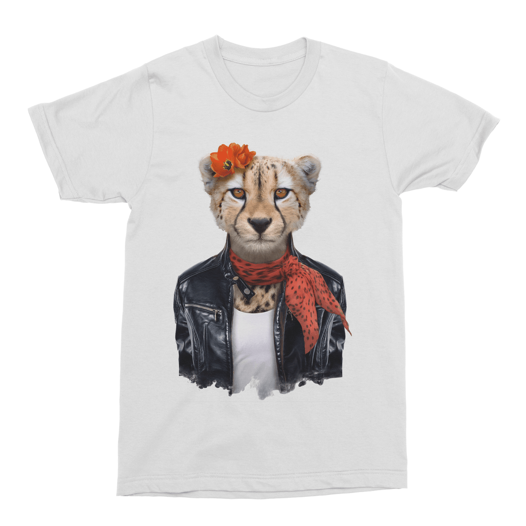 Cheetah Men's T-Shirt - Premium Artwear Curartee