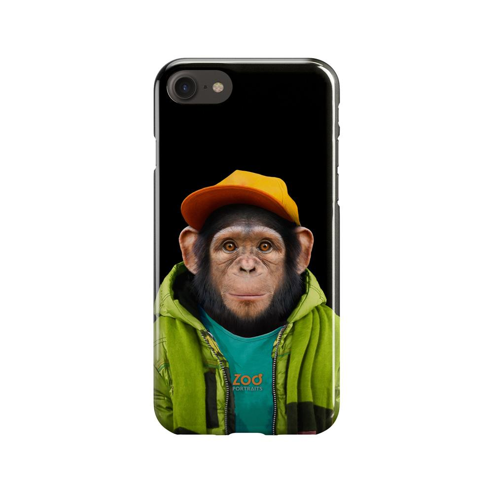 Common Chimpanzee Phone Case - Premium Artwear Curartee