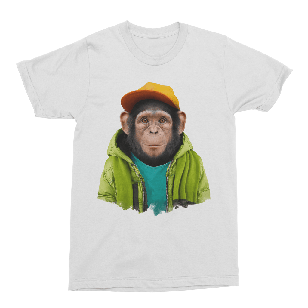 Common Chimpanzee Men's T-Shirt - Premium Artwear Curartee