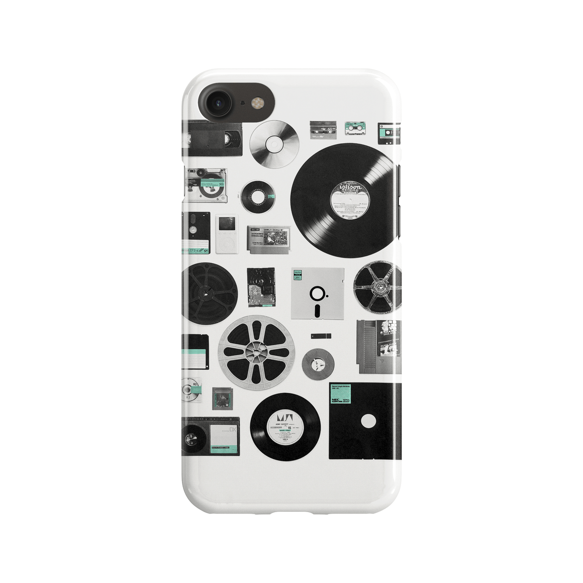 Data Phone Case - Premium Artwear Curartee