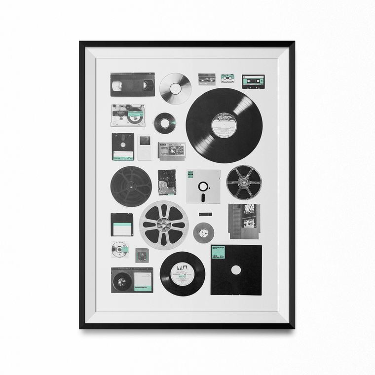 Data Art Print-Curartee