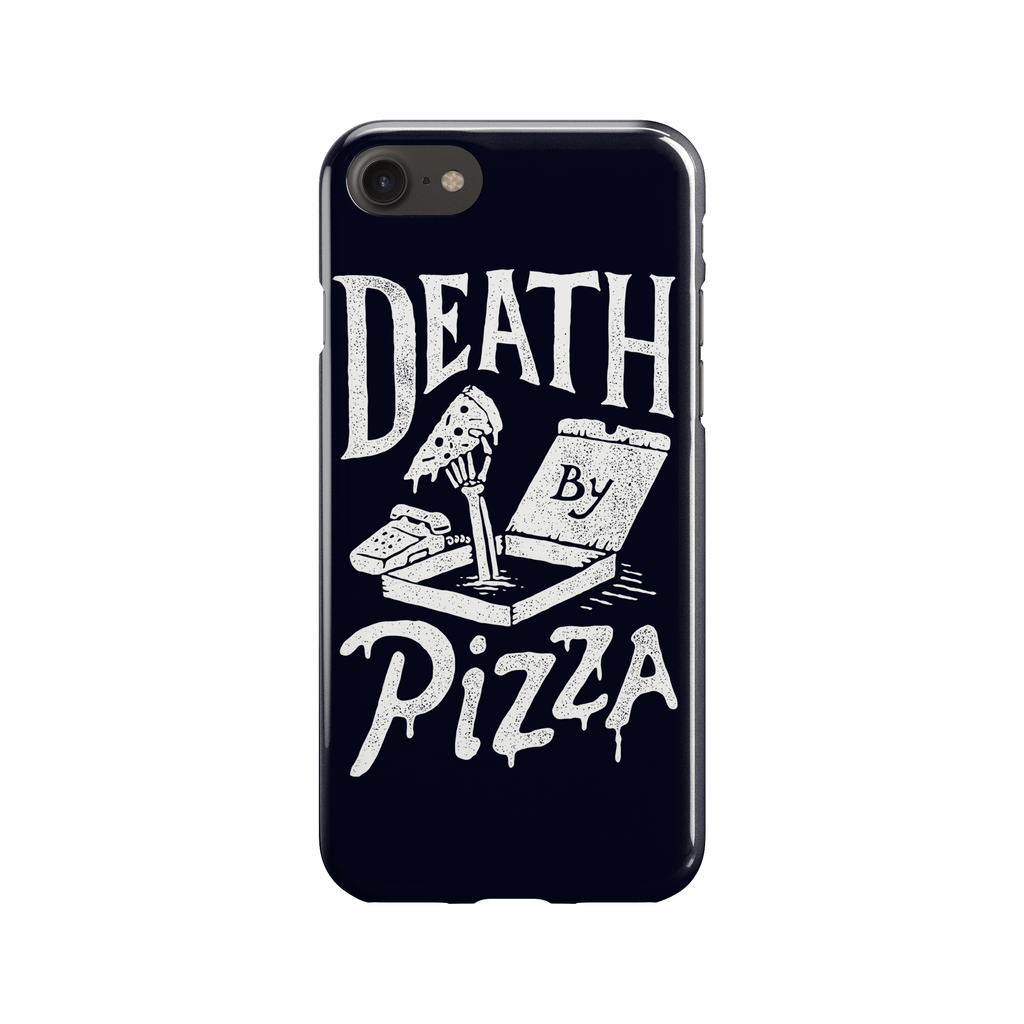 Death by Pizza Phone Case - Premium Artwear Curartee
