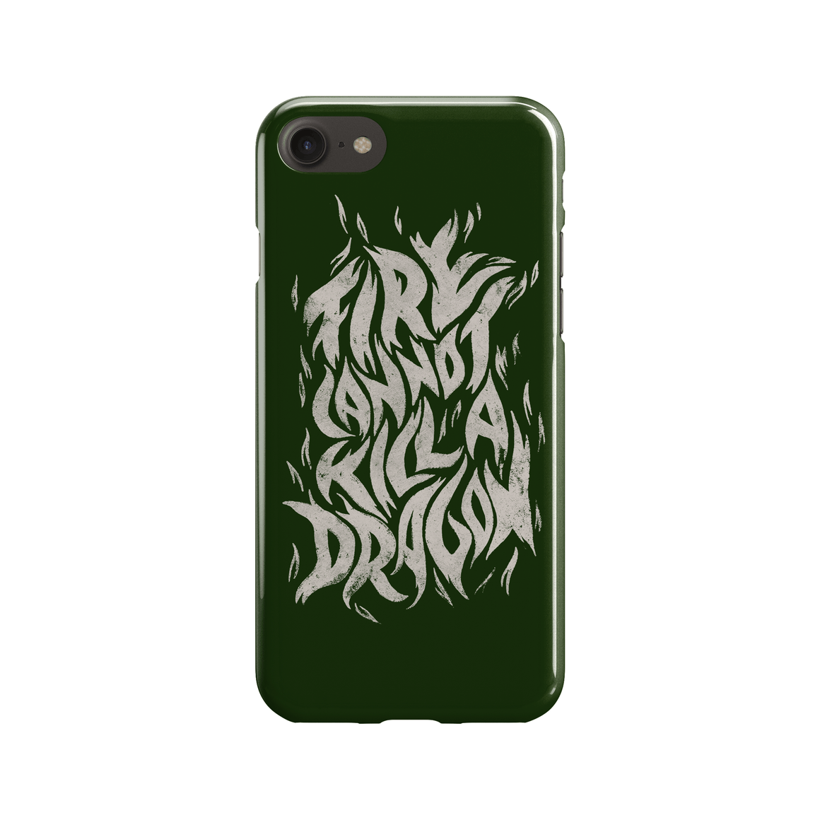 Fire Cannot Kill a Dragon Phone Case - Premium Artwear Curartee