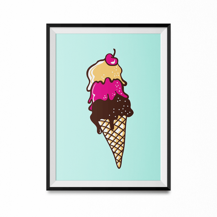 Fresh Art Print-Curartee