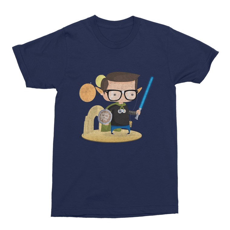 Geek Men's T-Shirt-Curartee