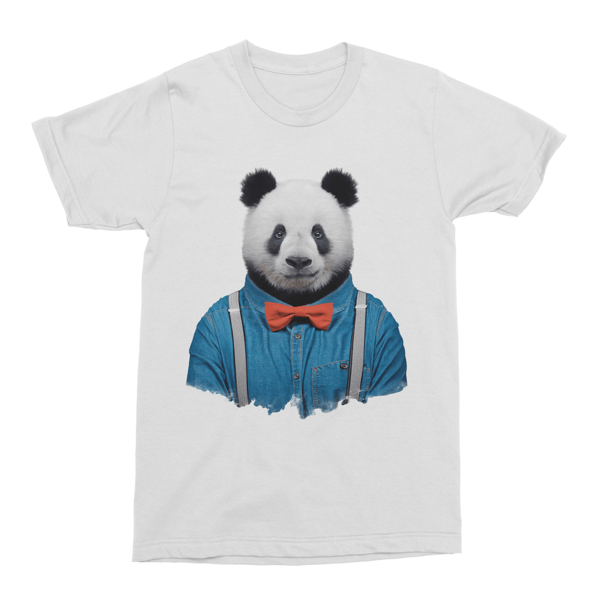 Giant Panda Men's T-Shirt - Premium Artwear Curartee