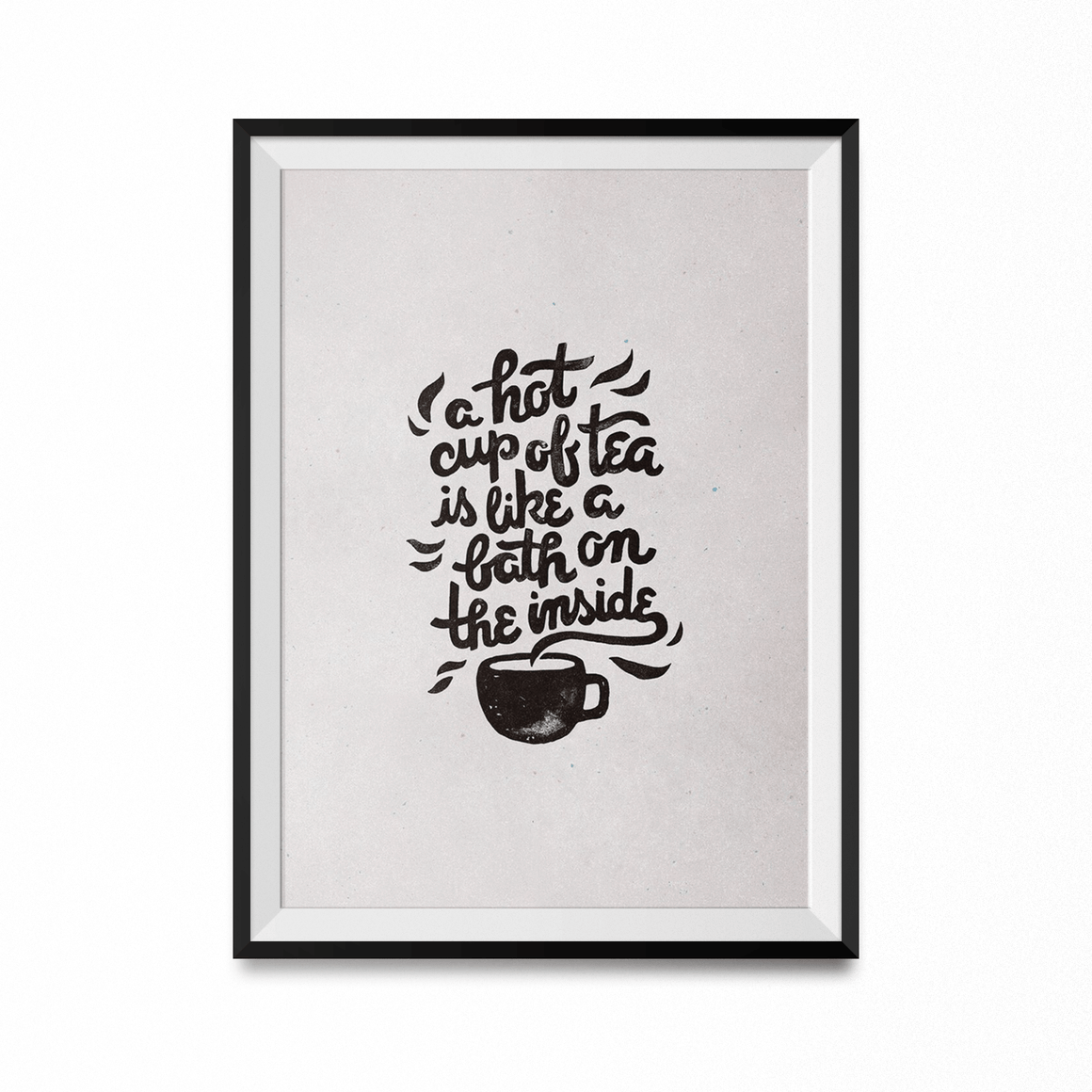 Hot Tea Art Print-Curartee