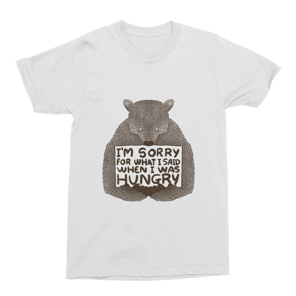 Sorry For What I Said When I Was Hungry Men's T-Shirt-Curartee