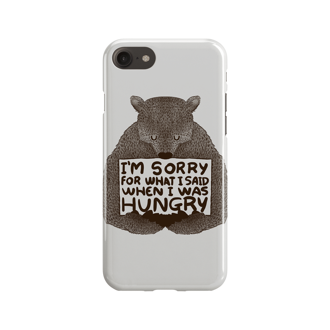 Sorry For What I Said When I Was Hungry Phone Case - Premium Artwear Curartee