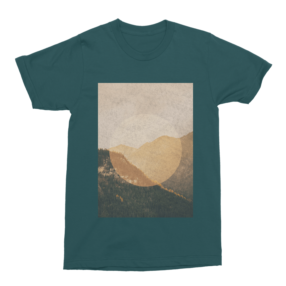 Mountains Men's T-Shirt-Curartee