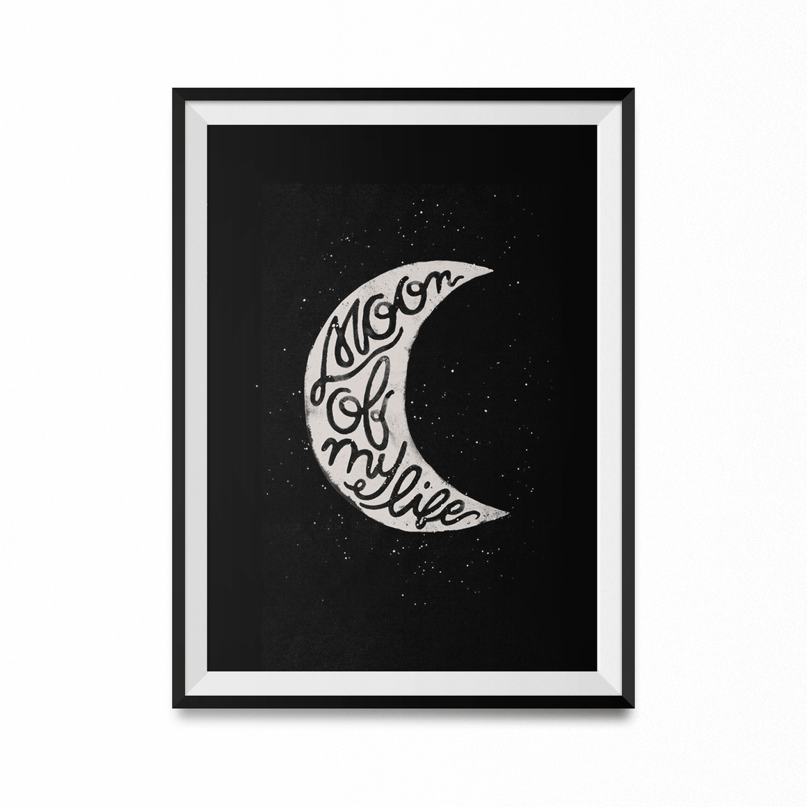 Moon of My Life Art Print-Curartee