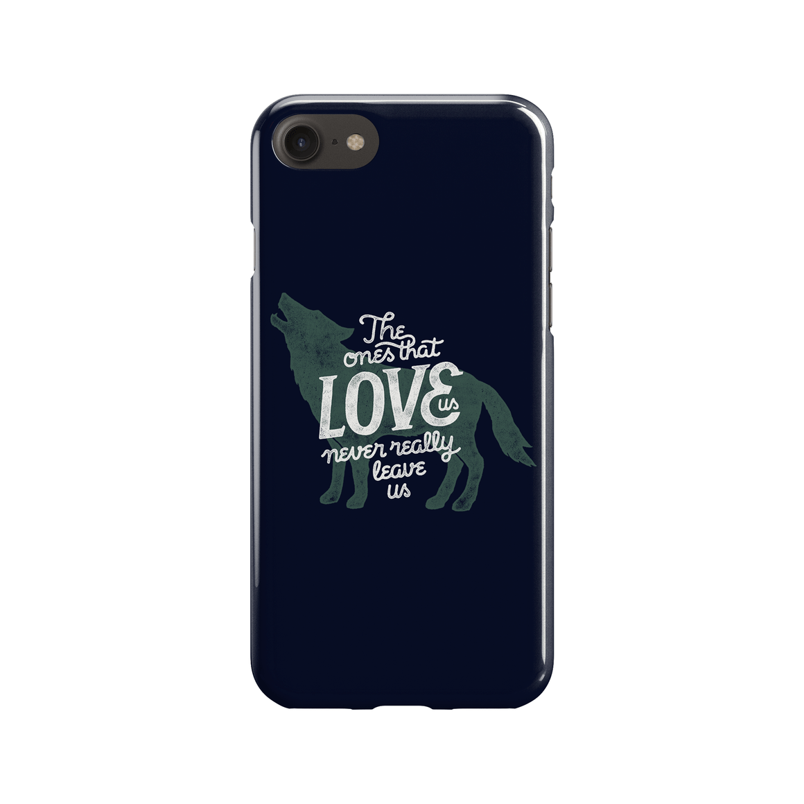 Never Leave Us Phone Case - Premium Artwear Curartee