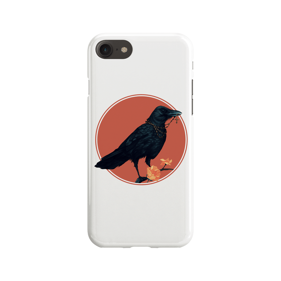 Oily Crow Phone Case - Premium Artwear Curartee