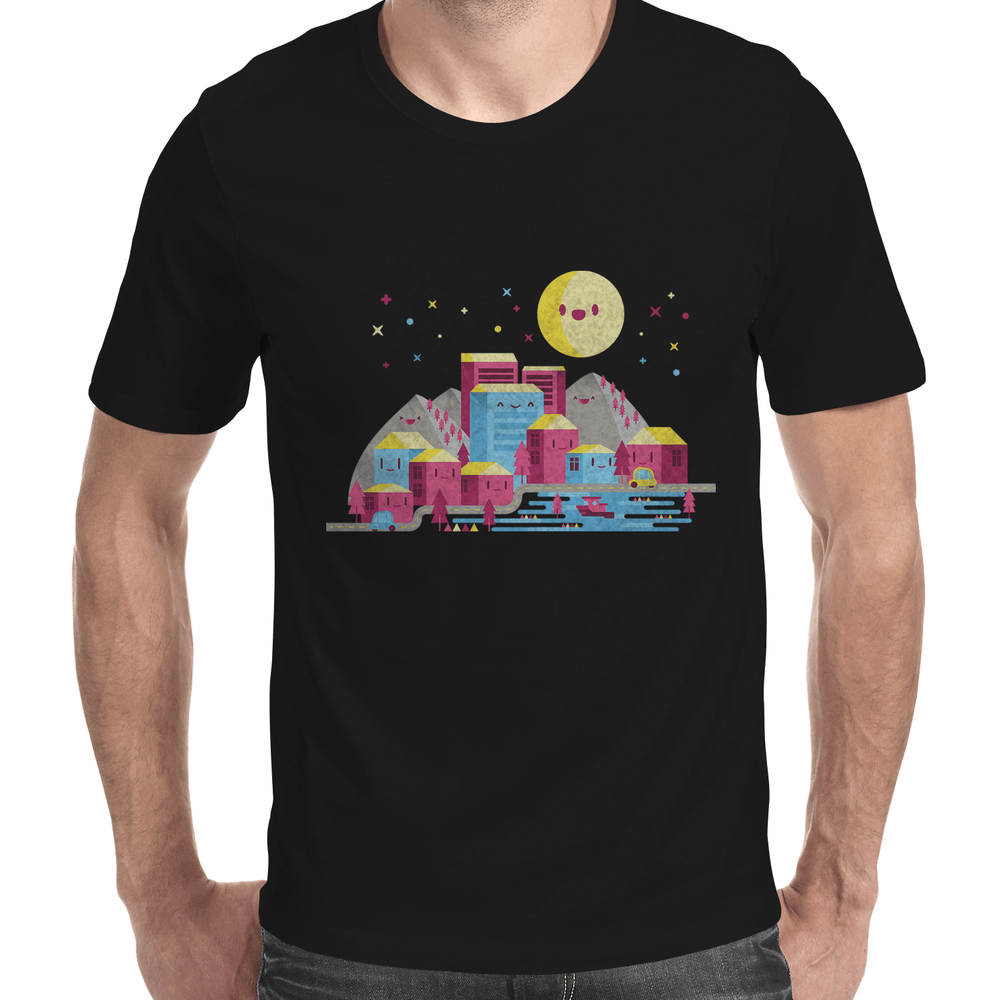 City Men's T-Shirt-Curartee