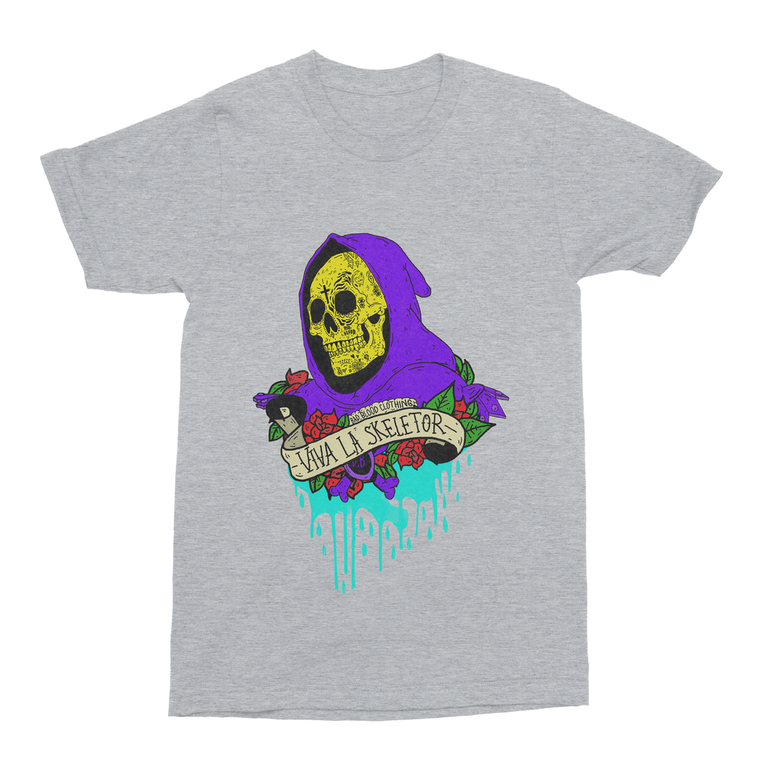 Viva La Skeletor Men's T-Shirt-Curartee