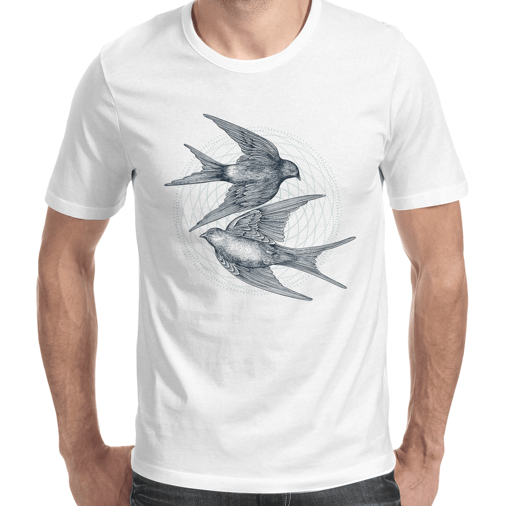 Swallows Men's T-Shirt-Curartee