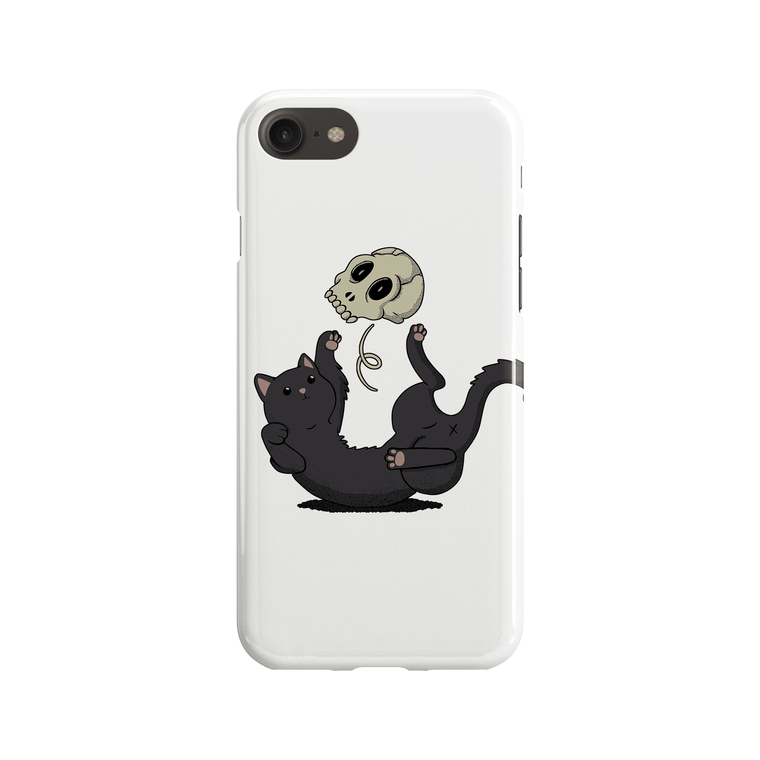 Skull Cat Phone Case