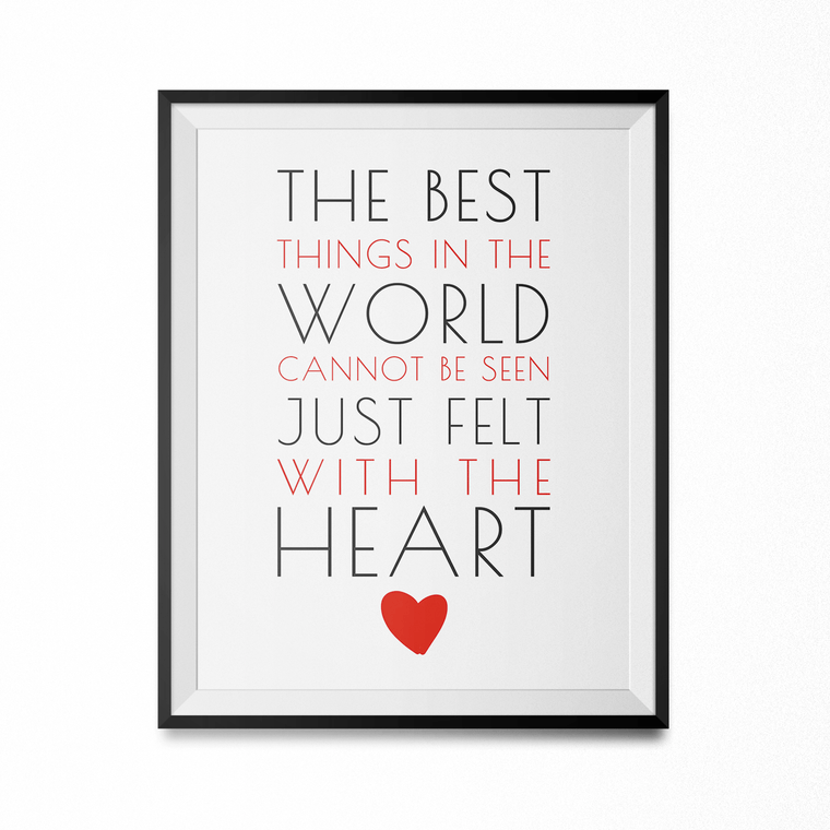 Best things in the World Art Print-Curartee