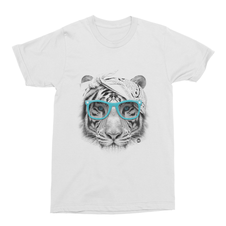 Gangster Tiger Men's T-Shirt-Curartee