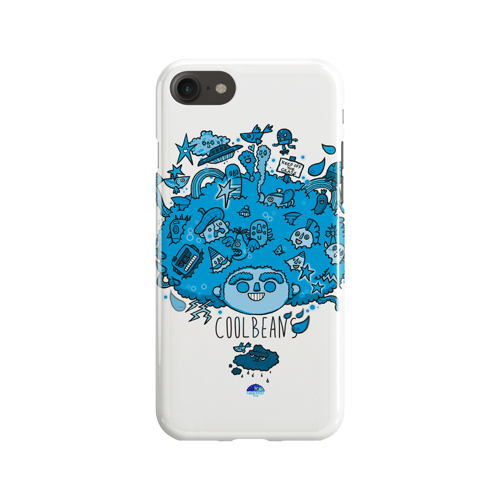 Big Hair Blue Phone Case - Premium Artwear Curartee