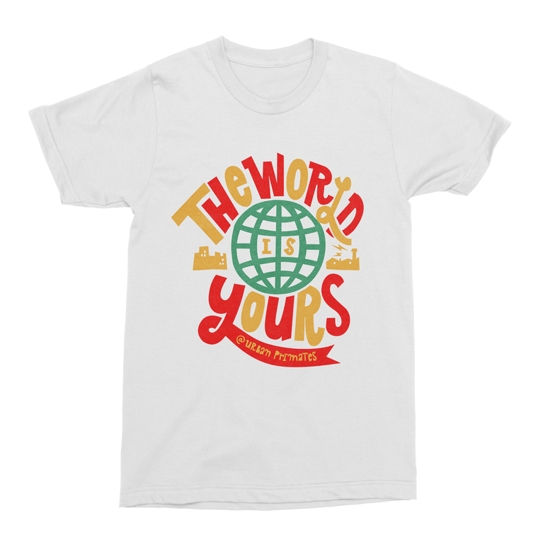 The World is Yours Men's T-Shirt-Curartee