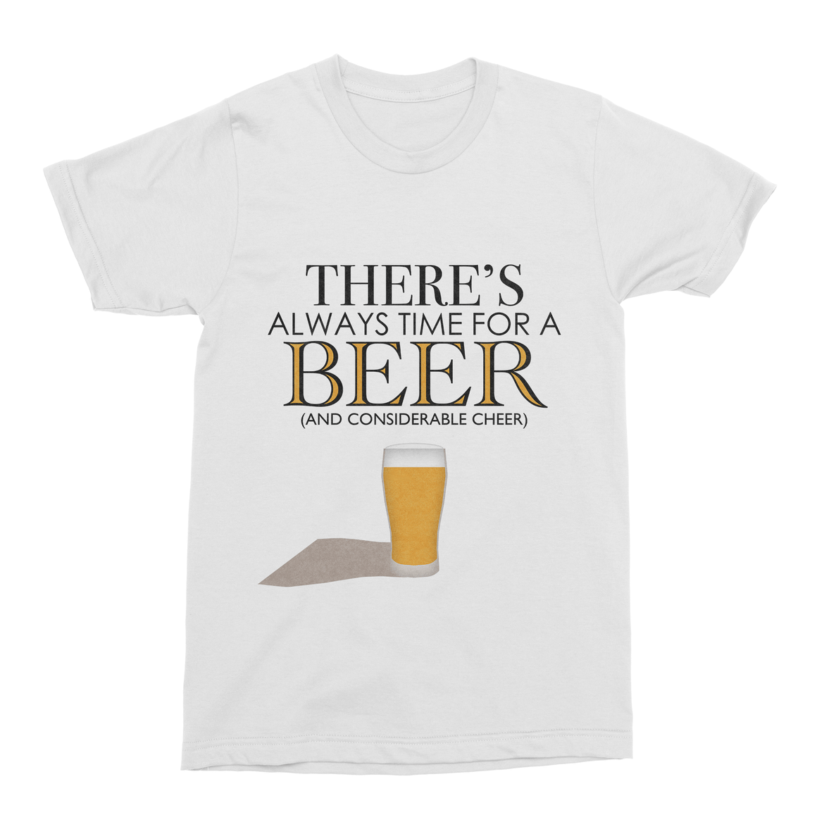 Always Time for Beer Men's T-Shirt-Curartee