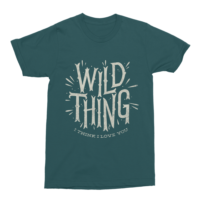 Wild Thing Men's T-Shirt - Premium Artwear Curartee