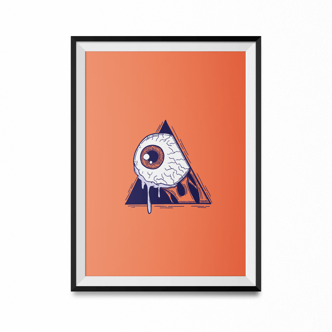 A Clockwork Eye Art Print-Curartee