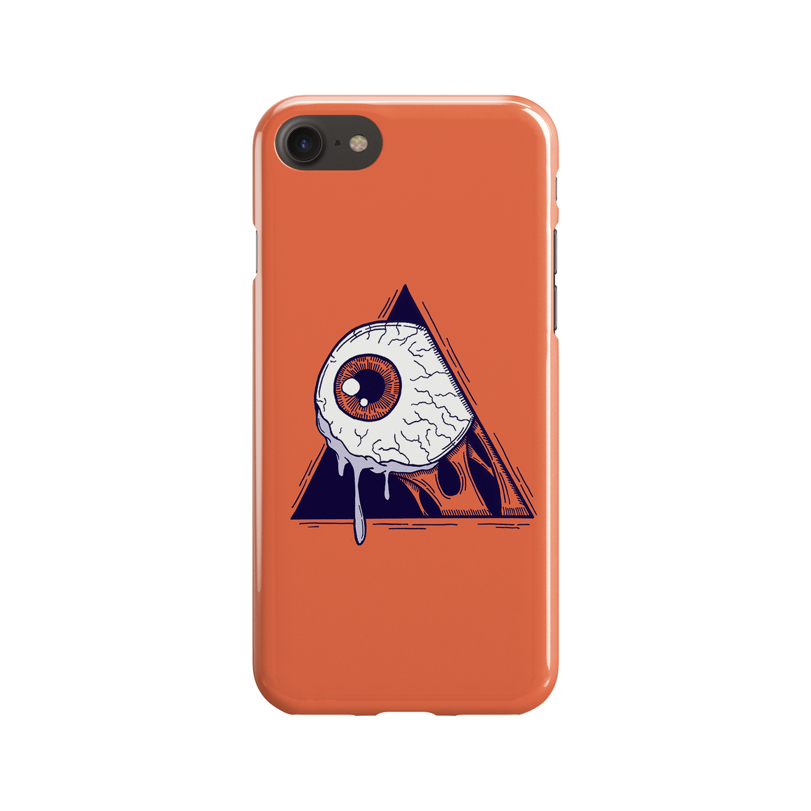 A Clockwork Eye Phone Case