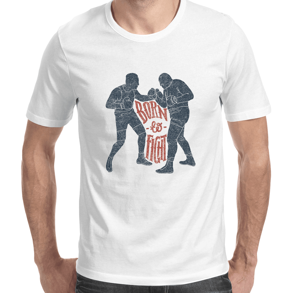 Born to Fight Men's T-Shirt-Curartee
