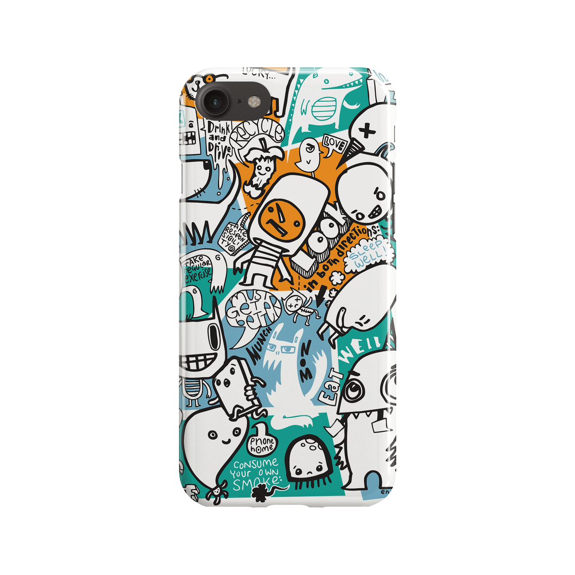 Advice Phone Case - Premium Artwear Curartee